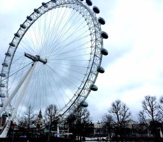 London Eye .