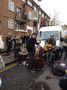 Portobello road musician