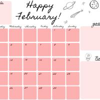 Planner Febbraio