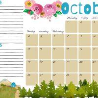 Planner Ottobre