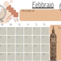 Planner Febbraio 2021