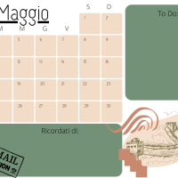Planner Maggio 2021