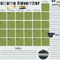 Planner Novembre