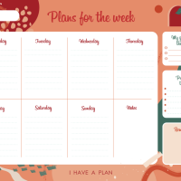 Planner settimanale!