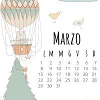 CALENDARIO MENSILE - marzo 2021